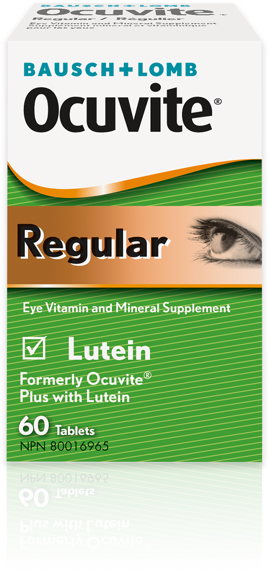 Product image of Ocuvite Regular Eye Vitamin and Mineral Supplement