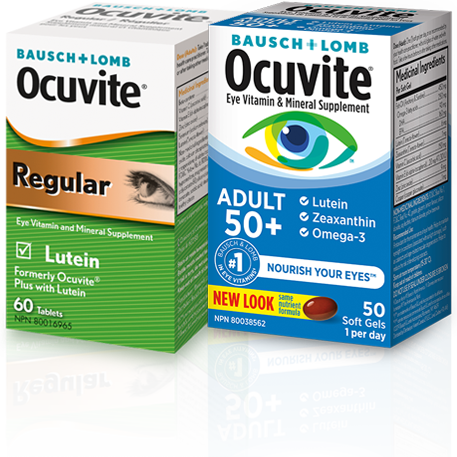 Product image of Bausch + Lomb Ocuvite and Ocuvite Regular